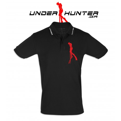 UH 039 BLACK DIVER POLO