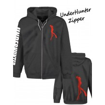 UH 021 UNDERHUNTER ZIPPER RED