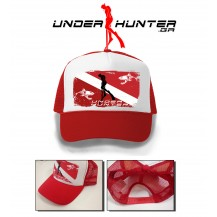 UH 030 TRACKER HAT RED FLAG